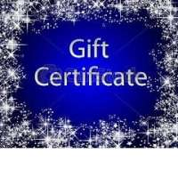 (a) $25 Gift Certificate