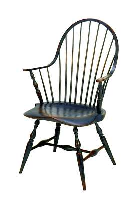 Continuous Arm Windsor-style Chair